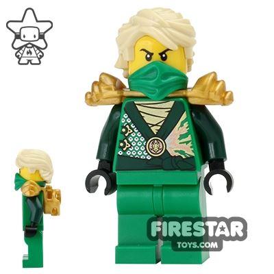 LEGO Ninjago Mini Figure - Lloyd Rebooted - Gold Armour