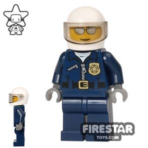 LEGO City Mini Figure - Police - City Motorcycle Officer