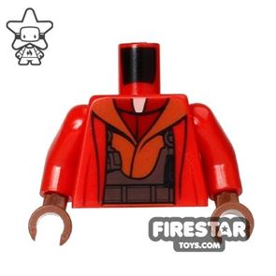 LEGO Mini Figure Torso - Star Wars - Naboo Fighter Jacket