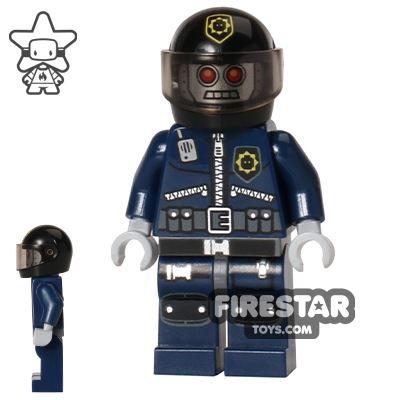 The LEGO Movie Mini Figure - Robo SWAT with Helmet