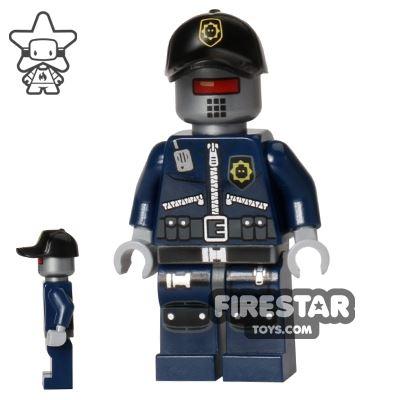 The LEGO Movie Mini Figure - Robo SWAT with Cap