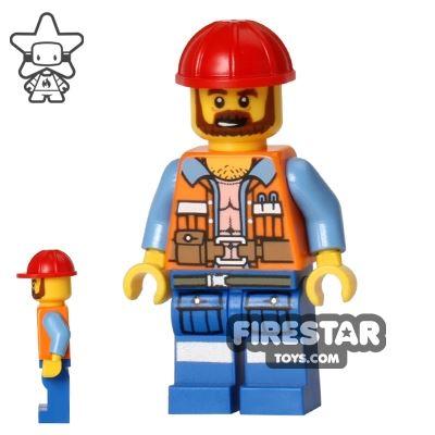 The LEGO Movie Mini Figure - Frank the Foreman