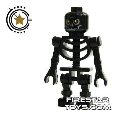 LEGO Mini Figure - Skeleton Black
