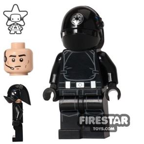 LEGO Star Wars Mini Figure - Imperial Gunner - Closed Mouth