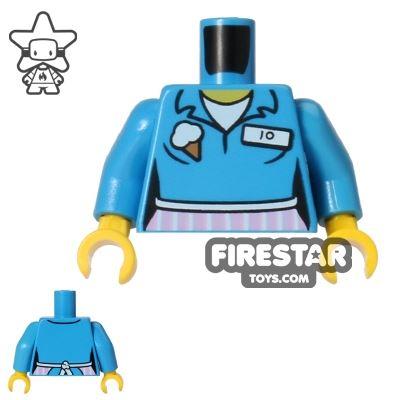 LEGO Mini Figure Torso - Ice Cream Shop Uniform