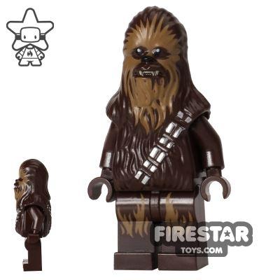 LEGO Star Wars Mini Figure - Chewbacca - Dark Tan Face