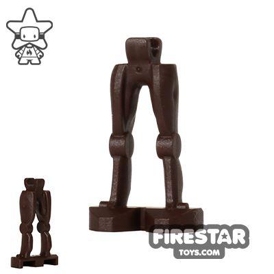 LEGO Mini Figure Legs - Super Battle Droid - Dark Brown