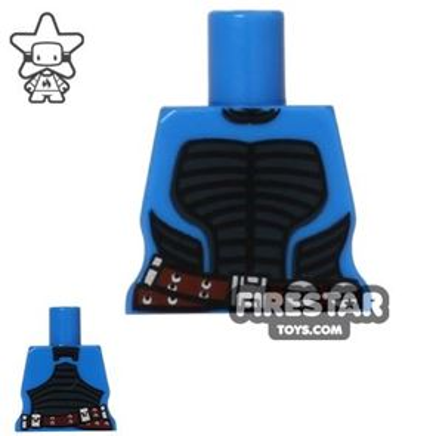 Arealight Mini Figure Torso - Battle Suit - Blue