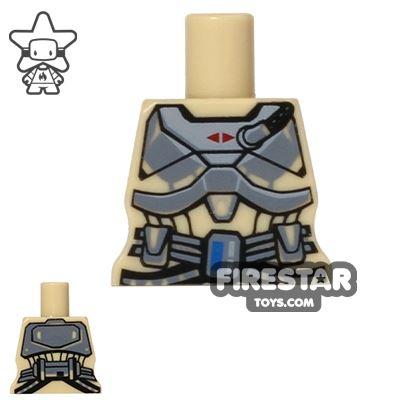 Arealight Mini Figure Torso - Space Armour - Tan