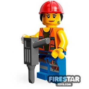 LEGO Minifigures - Gail the Construction Worker