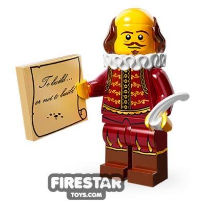 LEGO Minifigures - William Shakespeare