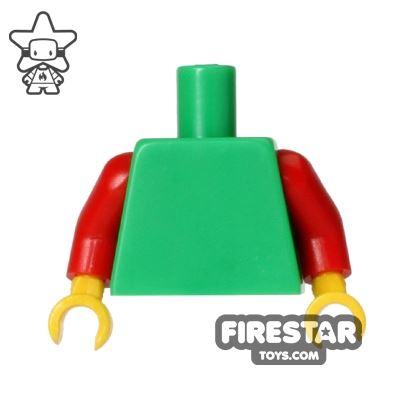 LEGO Minifigure Torso Bright Green