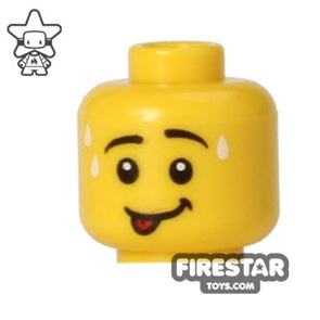 LEGO Mini Figure Heads - Smile with Tongue Out