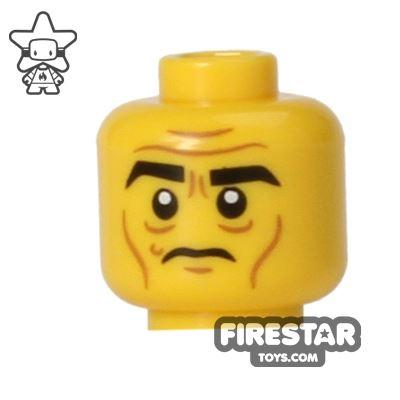 LEGO Mini Figure Heads - Wrinkles - Frown