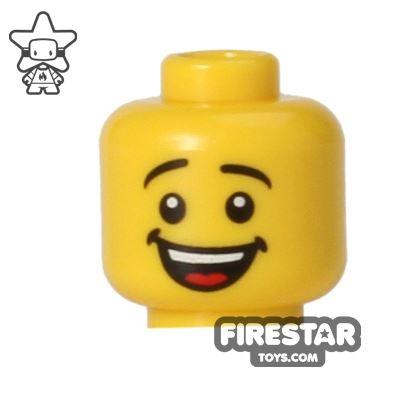 LEGO Mini Figure Heads - Big Smile