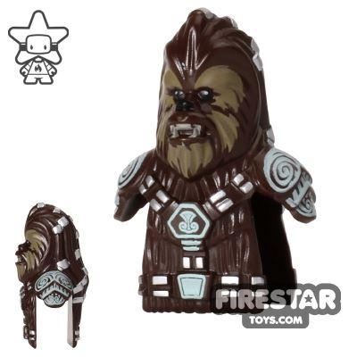 LEGO Mini Figure Heads - Star Wars Chief Tarfful
