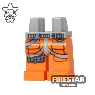 LEGO Mini Figure Legs - Orange - X-Wing Fighter