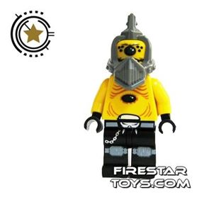 LEGO Space Police Mini Figure - Space Police 3 Alien - Snake Without Visor
