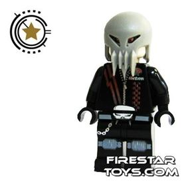 LEGO Space Police Mini Figure - Space Police 3 Alien - Skull Twin