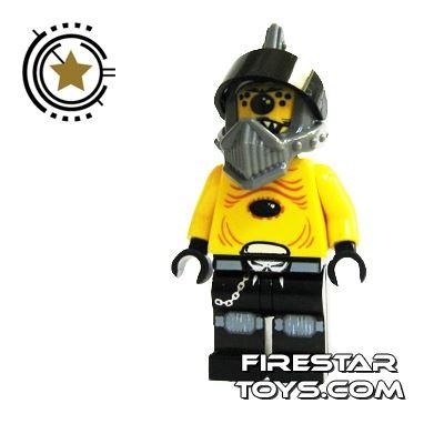 LEGO Space Police Mini Figure - Space Police 3 Alien - Snake With Visor