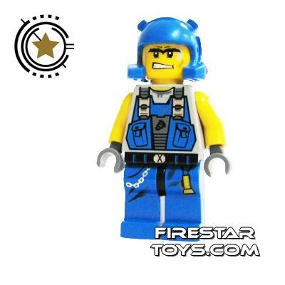 LEGO Power Miners Mini Figure - Power Miner