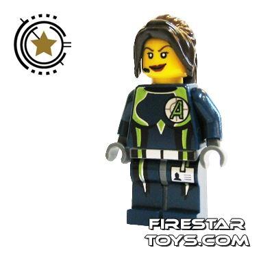 LEGO Agent Mini Figure -  Agent Trace
