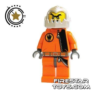 LEGO Agent Mini Figure -  Break Jaw