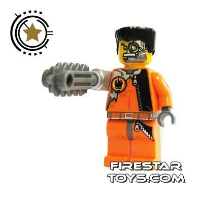 LEGO Agent Mini Figure -  Saw Fist