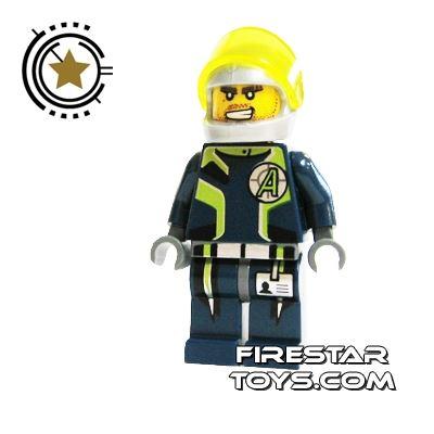 LEGO Agent Mini Figure -  Agent Charge - Helmet