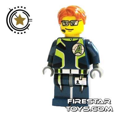 LEGO Agent Mini Figure -  Agent Fuse