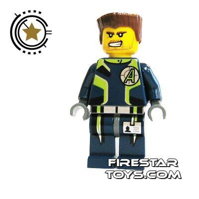 LEGO Agent Mini Figure -  Agent Charge