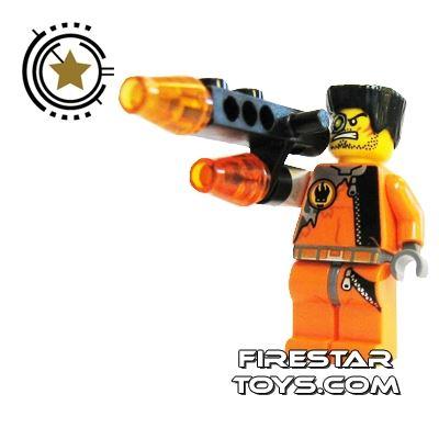 LEGO Agent Mini Figure - Fire Arm