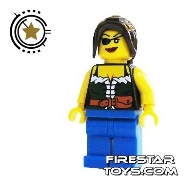 LEGO Pirate Mini Figure - Pirate Female