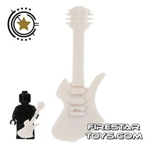Amazing Armory - White Electric Guitar 4