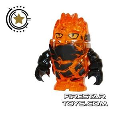 LEGO Power Miners Mini Figure - Rock Monster - Firax