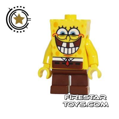 LEGO Spongebob Minifigure Spongebob Toothy Grin