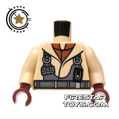 LEGO Mini Figure Torso - Pilot Torso