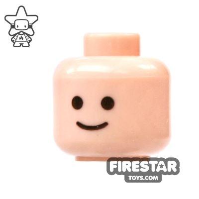 LEGO Mini Figure Heads - Simple Smile Face