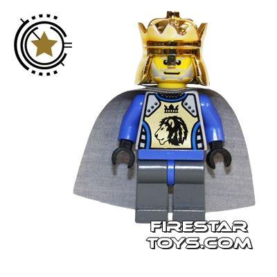 LEGO Castle Fantasy Era - Crown King With Gray Cape