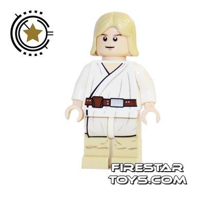 LEGO Star Wars Mini Figure - Luke Tatooine Flesh White Pupils
