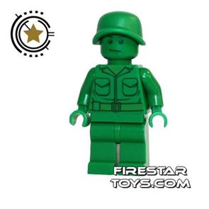 LEGO Toy Story Mini Figure - Green Army Soldier