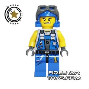 LEGO Power Miners Mini Figure - Power Miner With Goggles
