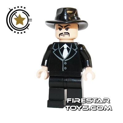 LEGO Indiana Jones Mini Figure - Shanghai Gangster Moustache