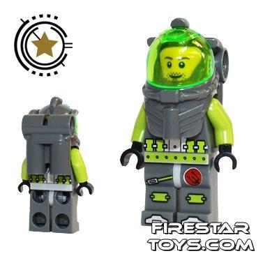 LEGO Atlantis Mini Figure - Diver Lance Spears
