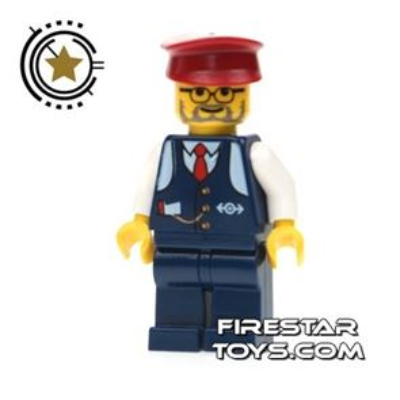 LEGO City Mini Figure – Conductor Charlie