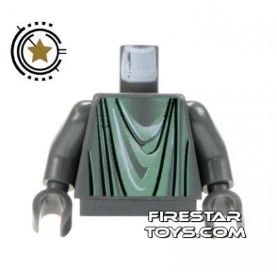 LEGO Mini Figure Torso - Marauders Dark Gray Robes