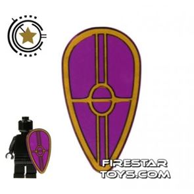 LEGO - Purple Gungan Patrol Shield