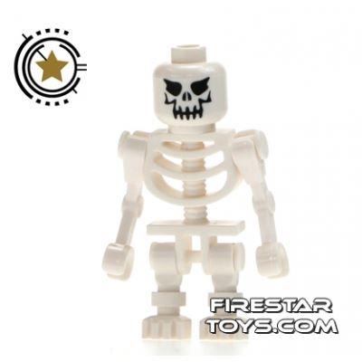 LEGO Mini Figure - Evil Skeleton Straight Arms