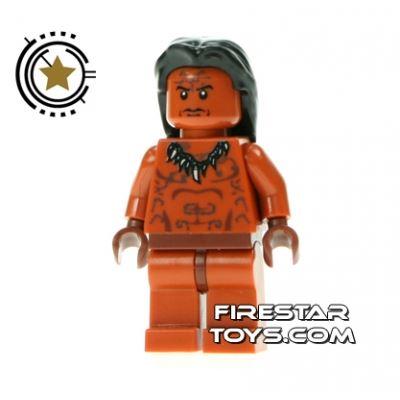 LEGO Indiana Jones Mini Figure - Ugha Warrior