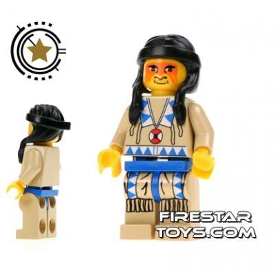 LEGO Mini Figure - Indian